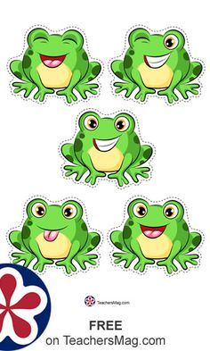 Free Five Little Speckled Frogs Printable Counting Game Five Little Speckled Frogs Printable Counting Game which preschool teachers have sung and enjoyed with students for countless years. Frog Theme Preschool, Frog Activities, Preschool Printables, Preschool Worksheets, Toddler Activities, Preschool Teachers, Learning Activities, Preschool Activities, Frog Games