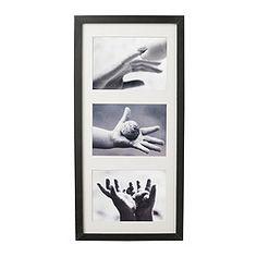 """RIBBA Frame, high gloss, gray - 19 ¾x9 """" - IKEA"""