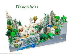 rivendell made out of Legos!!