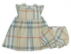 BURBERRY Sommerkleid mit Höschen für Mädchen