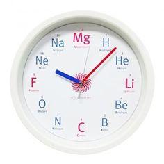 원소기호시계(무소음벽시계)