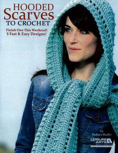 Picture of Hooded Scarves To Crochet