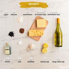 Kaasfondue: Iedere kaas kent zijn eigen smeltgedrag en zijn eigen unieke smaak. Belangrijkste tip: Ga op zoek naar jouw eigen favoriete smaakcombinatie!  Op deze pagina geven we je het basisrecept mee, en kun je daarnaast aan de slag met allerlei variaties.  #Classic #Cheesefondue #Dinner #Recipe #Fondue #Cheese #Tips #DIY #Basics Meatless Monday, Fodmap, Diy Food, Fondue, Are You Happy, Tapas, Recipies, Dinner Recipes, Good Food
