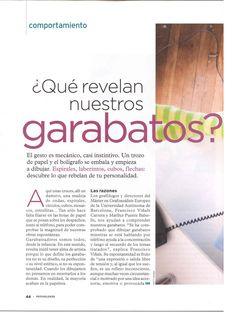 """1.-  Psychologies Magazine, 57 """"Qué esconden nuestros garabatos"""" Behavior, Doodles, Bridges"""