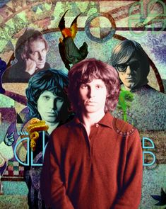 Jim Morrison & the Doors - Color Edit The Doors Jim Morrison, The Doors Of Perception, Rock Chick, Gallery, Youtube, Fictional Characters, Color, Roof Rack, Colour
