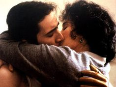 """Moonstruck"" with Cher, Nicolas Cage, Olympia Dukakis, Danny Aiello, John Mahoney. This movie is in my top 80s Movies, Great Movies, Film Movie, Amazing Movies, Best Love Stories, Love Story, Danny Aiello, Olympia Dukakis, John Mahoney"