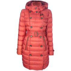 BURBERRY BRIT 'Mintbury' padded coat ($960) ❤ liked on Polyvore