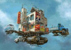 El Hurgador [Arte en la Red]: Alejandro Burdisio (Burda) [Ilustración, Arte Digital]