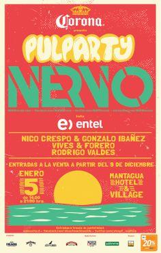 Pulparty Nervo - 05 de enero - Mantagua Hotel & Resort