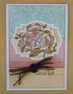 Card - layered stamping