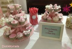Mesa dulce Place Cards, Place Card Holders, Candy Buffet, Candy Stations, Mesas, Events