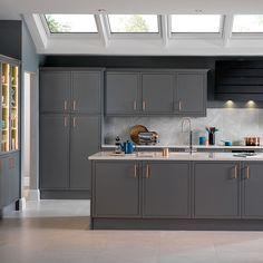 Image result for grey kitchen