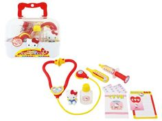 Hello Kitty Doctor Nurse Clinic Toy Medical Set Sanrio Japan *** More info could be found at the image url.Note:It is affiliate link to Amazon.