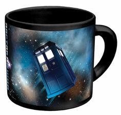 Dr. Who Disappearing TARDIS Mug  Travel Through Space And Time With This Dr. Who Disappearing TARDIS Mug. Watch The Magic Unfold Right As You Pour And Drink Your Morning Coffee!    $12.95