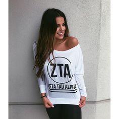 ZTA Circle Tee | Zeta Tau Alpha | Sorority Recruitment | Bid Day