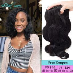New Hair Style Brazilian Body Wave 3 Bundles 100% Human Hair Bundles Weave tissage bresilienne Brazilian Virgin Hair Body Wave * Detailed information can be found by clicking on the VISIT button