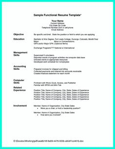 ideas about chronological resume template on pinterest    chronological resume is needed by people in making them understand how to write good resume in
