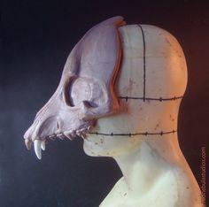 making a goat mask - Google Search
