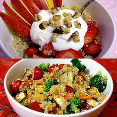 Pump Up the Nutrition of Quinoa: Add These Foods