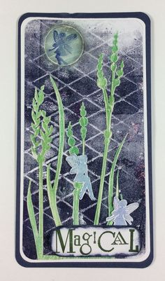 Gelli art Print for Clarity Stamp on C&C TV March 2015 by Sam Crowe