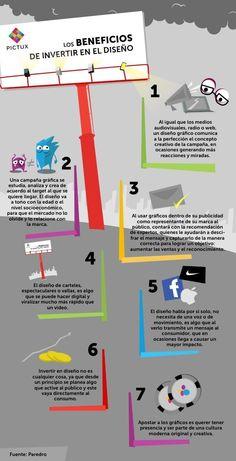 Los beneficios de invertir en el #diseño #CreatividadQueConquista