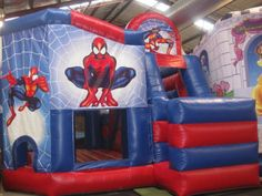Austin Jumping Castle offers varied types of jumping castles on rent. Apart from Spiderman Jumping Castle, you can hire jumping castles as Carousel Horse Rider, Frozen, Disney, Hello Kitty, Dora and so on.