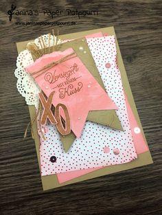jpp - Karte / Scrapbooking / Versiegelt mit einem Kuss / card / Valentine's / Valentinstag / Liebe/ sneak peek / OnStage 2016 / Schauwand Designer / Display Stamper / Stampin' Up! Berlin / Mit Gruß und Kuss / Sealed with love   www.janinaspaperpotpourri.de