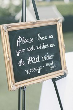 wedding guestbook alternative video booth // brides of adelaide magazine