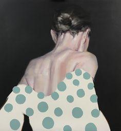 "Petri Niemelä: ""Pitch Black I"" (oil on canvas) Pitch, Oil On Canvas, Modern Art, Sweet, Painting, Black, Women, Candy, Black People"