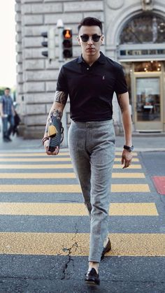 How You Can Look Good In Simple Outfits For Men Simple yet Significant. How You Can Look Good In Simple Outfits For Men Simple yet Significant. Best Mens Fashion, Mens Fashion Suits, Male Fashion Clothes, Men Winter Fashion, Men Fashion Casual, Mens Office Fashion, Vans Fashion, Fashion Tips, Fashion Boots