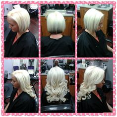 Quick and easy steps for installing tape in hair extensions hair babe tape in hair extensions by jessica oram call for appointment 615 260 8415 pmusecretfo Images