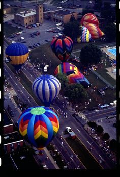 Funfest Hot Air Balloon Rally  Kingsport, TN  Photo: Archives of the City of Kingsport