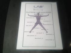 LAB5 Fitness Platinum Club Qualifiers July 2013