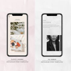 Combination Stories Pack - Simple & Classic x The Founder – Instagram Story Template, The Creator, Packing, Photoshop, Social Media, Marketing, Simple, Classic, Inspiration