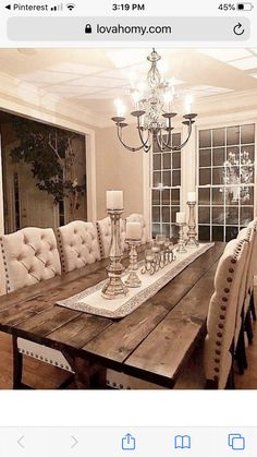 dining room 325103666854317287 - 119 Marvelous Modern Farmhouse Dining Room Design Ideas – Page 15 of 120 Source by Farmhouse Dining Room Table, Dining Room Table Decor, Dining Room Design, Dining Room Furniture, Dining Area, Furniture Ideas, Large Dining Rooms, Dining Room Decorating, Farm House Dinning Room