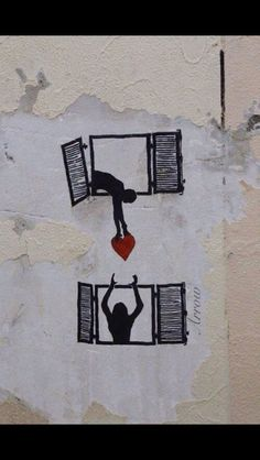 From the rat, I guessing this is another piece from the symbolic genius - Banksy. 3d Street Art, Street Art Banksy, Murals Street Art, Banksy Art, Street Artists, Bansky, Berlin Graffiti, Graffiti Artists, Land Art