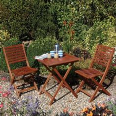 Buy Rowlinson Plumley Bistro Set at Guaranteed Cheapest Prices with Rapid Delivery available now at Greenfingers.com, the UK's #1 Online Garden Centre.