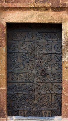 #doors Entrance Ways, Entrance Doors, Doorway, Garage Doors, Cool Doors, Unique Doors, Arched Windows, Windows And Doors, When One Door Closes