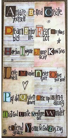 The A, B, Cs...#Repin By:Pinterest++ for iPad#