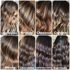 All my beautiful brunettes! Thinking about balayage and Fall hair trends? Check out this color chart for and — Come see me! Call, text or DM to book! Brown Hair Balayage, Hair Color Balayage, Hair Highlights, Bayalage Color, Caramel Balayage Brunette, Hair Color Ideas For Brunettes Balayage, Brown Hair With Highlights And Lowlights, Caramel Hair, Hair Color Names
