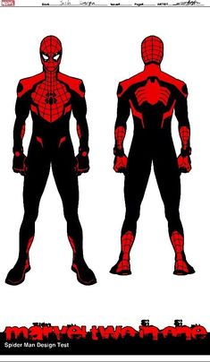 All Spiderman, Spiderman Drawing, Spiderman Suits, Spiderman Costume, Amazing Spiderman, Superhero Characters, Comic Book Characters, Marvel Art, Marvel Heroes