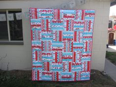 Rail Fence Quilt | Flickr - Photo Sharing!