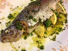 Check out my recipe for Whole Roasted Fish with Croatian Blitva (Swiss Chard and Potatoes)!