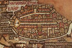 Mosaic Map of Jerusalem