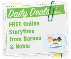 Online Storytime from Barnes & Noble
