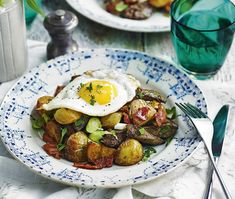 Liver, potato & bacon sauté: Good value and rich in flavour and nutrients, lamb's liver packs a punch in this satisfying sauté. Humble Potato, Best Potato Recipes, Baby Potatoes, Cake Flour, Good Housekeeping, Avocado Toast, Allrecipes, Olive Oil