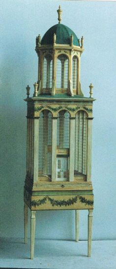 Italian tower cage by Eric Lansdown 1993 -ericlansdown@gmail.com