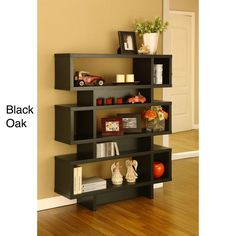 Tier Display Cabinet/ Bookcase | Overstock.com - 44 inches tall