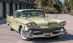 Vintage Cars 1958 Cadillac Sixty-Two Coupe de Ville Classic Motors, Classic Cars, Austin Martin, Bugatti, Lamborghini, Ferrari, Muscle Cars, Jaguar, Old American Cars