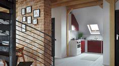 stunning loft interior design idea 5